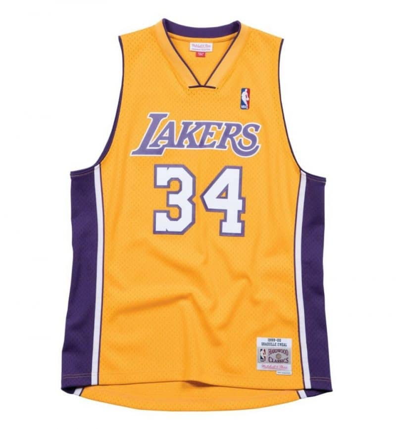 Maillot Shaquille O'Neal - Los Angeles Lakers - Mitchell and Ness