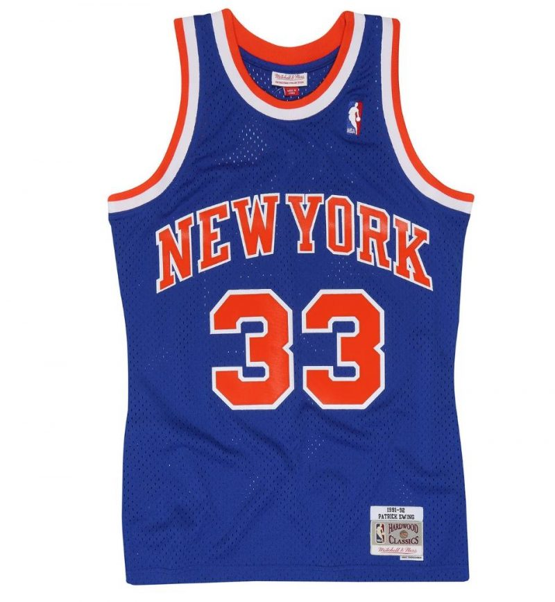 New-York Knicks Patrick Ewing 91-92 HWC Swingman