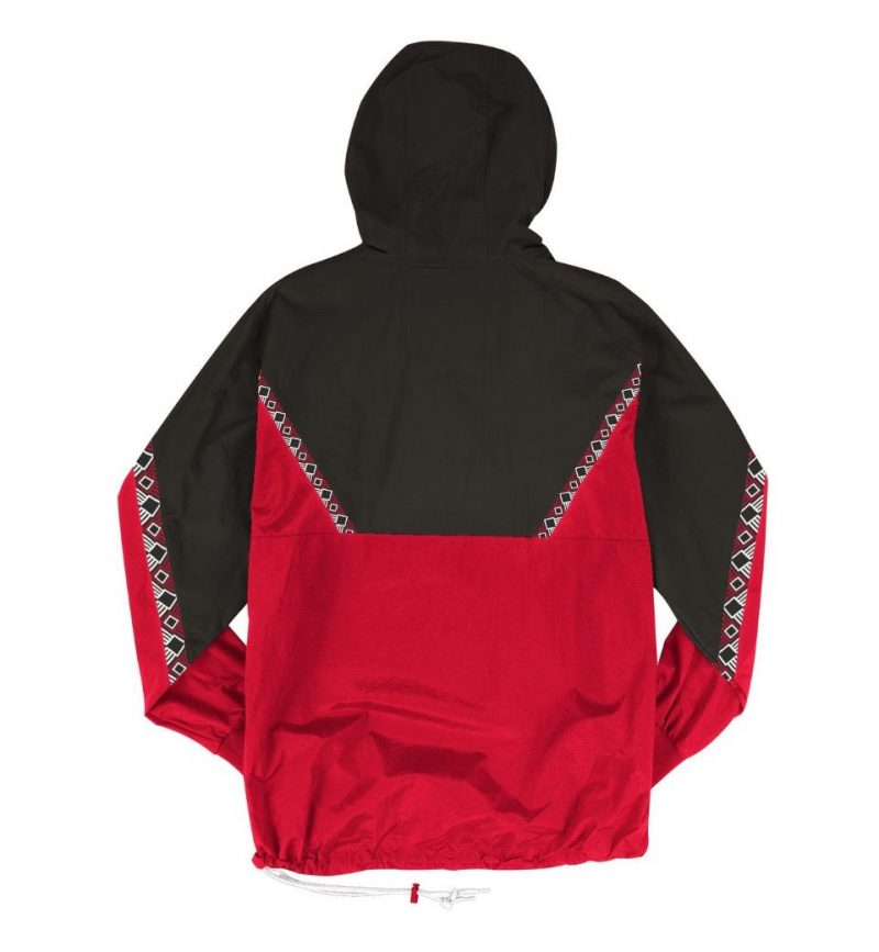 Half-Zip Anorak Chicago Bulls Warriors Mitchell & Ness