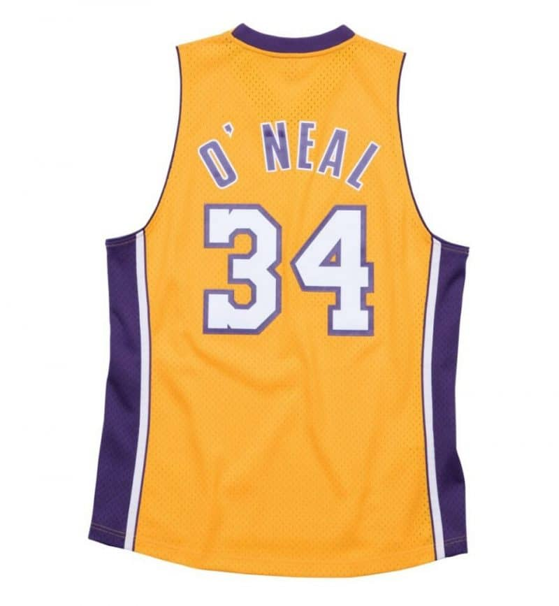Maillot Shaquille O'Neal - Los Angeles Lakers - Mitchell and Ness - dos