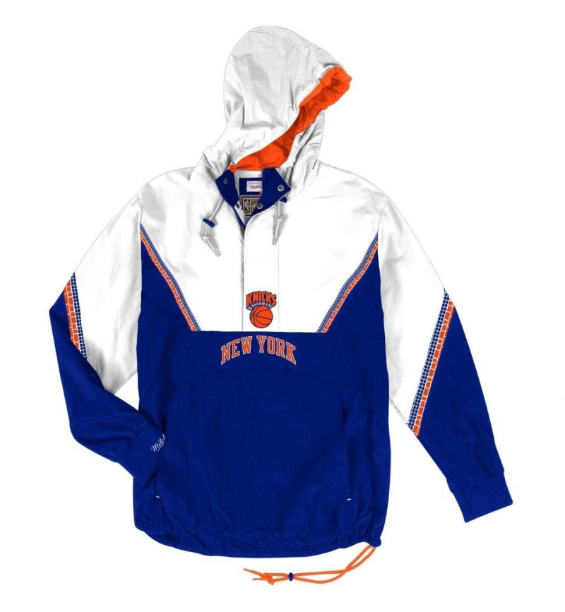 Half-Zip Anorak New-York Knicks Mitchell & Ness