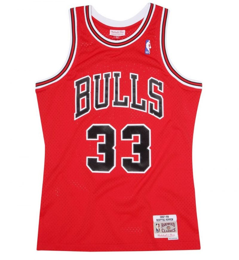 Chicago Bulls Scottie Pippen 97-98 HWC Swingman