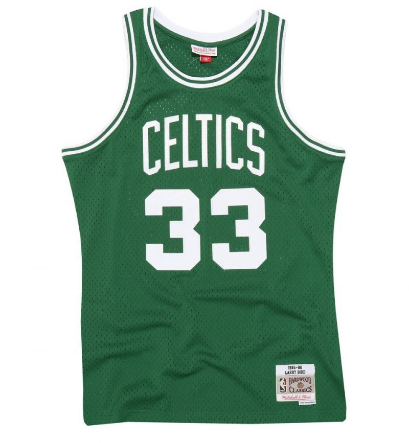 Boston Celtics Larry Bird 85-86 HWC Swingman
