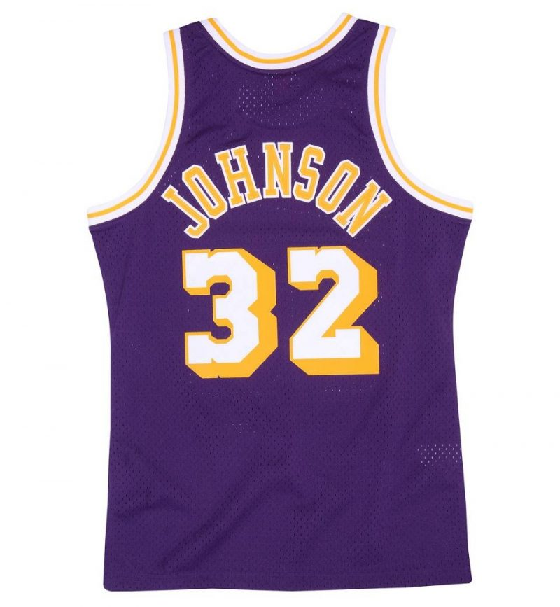 Los Angeles Lakers Magic Johnson 84-85 HWC Swingman