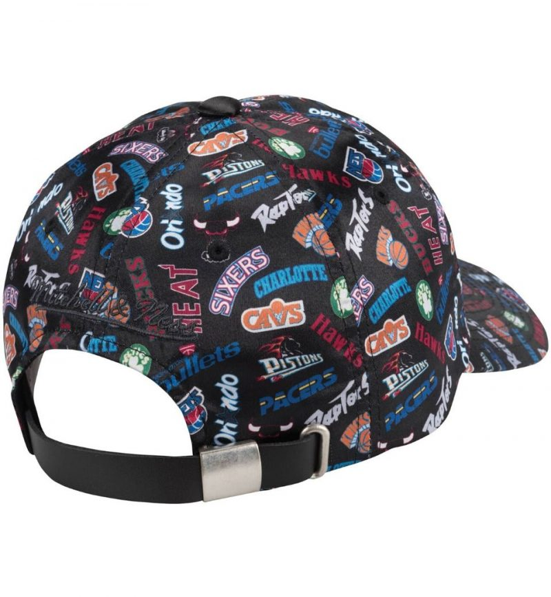 Casquette vintage Eastern Conference - Michell and Ness - strapback - dos