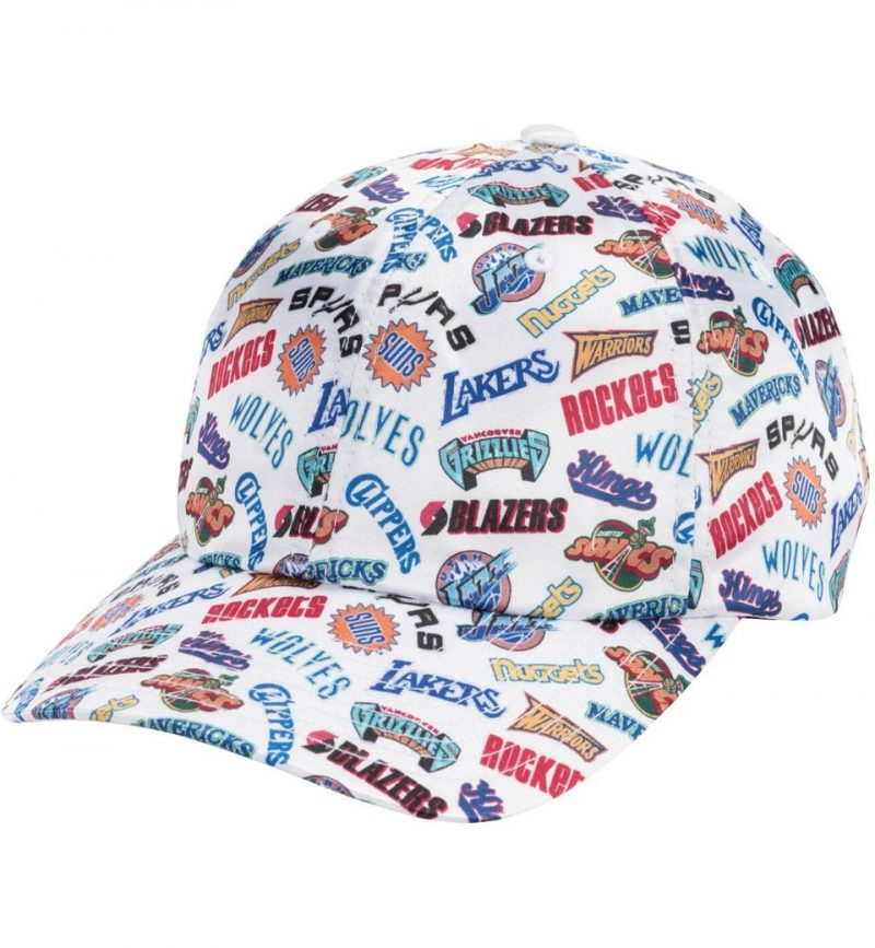 Casquette vintage Western Conference - Michell and Ness - strapback