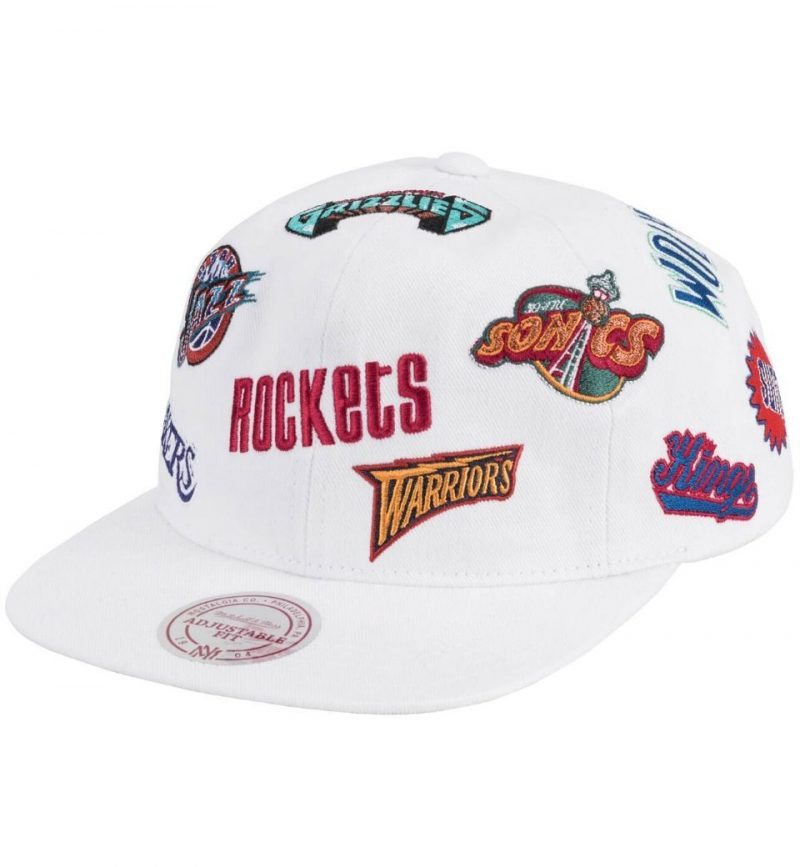 Casquette vintage Western Conference - Mitchell and. Ness - face
