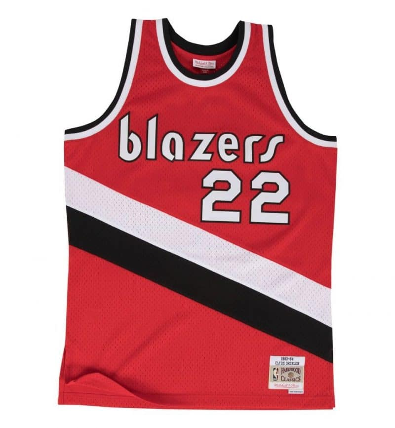Maillot Clyde Drexler - Mitchell and Ness - Swingman