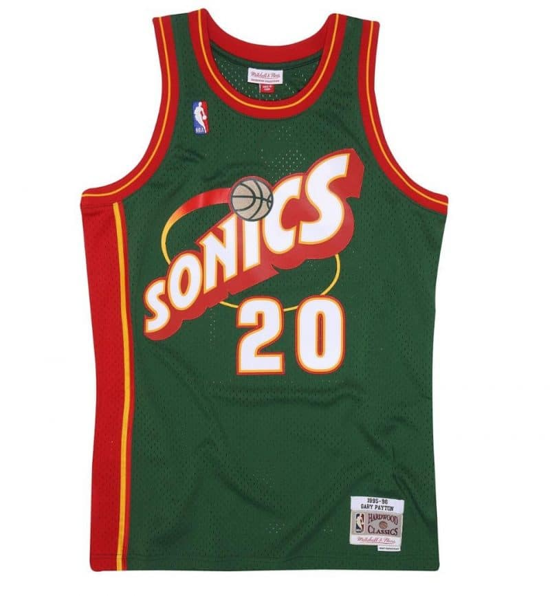 Maillot Gary Payton - Mitchell and Ness - Swingman