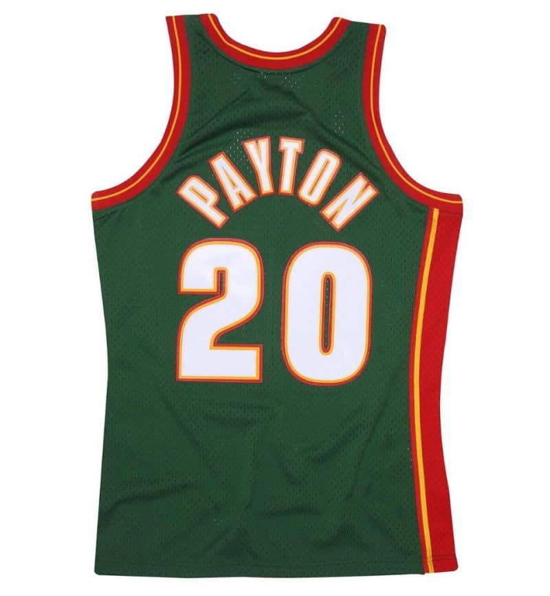 Maillot Gary Payton - Mitchell and Ness - Swingman - dos