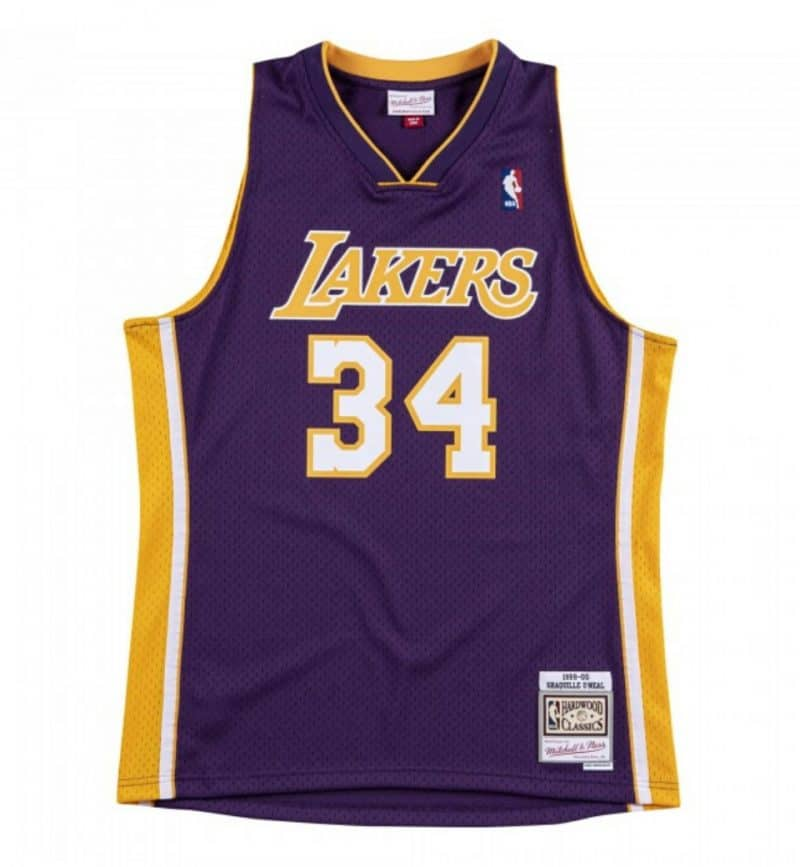 Maillot Shaquille O'neal - Swingman - Mitchell and Ness