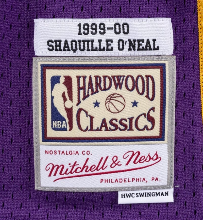Maillot Shaquille O'neal - Swingman - Mitchell and Ness - etiquette
