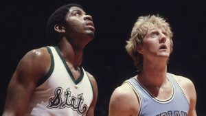 Magic Johnson et Larry Bird - Spartans