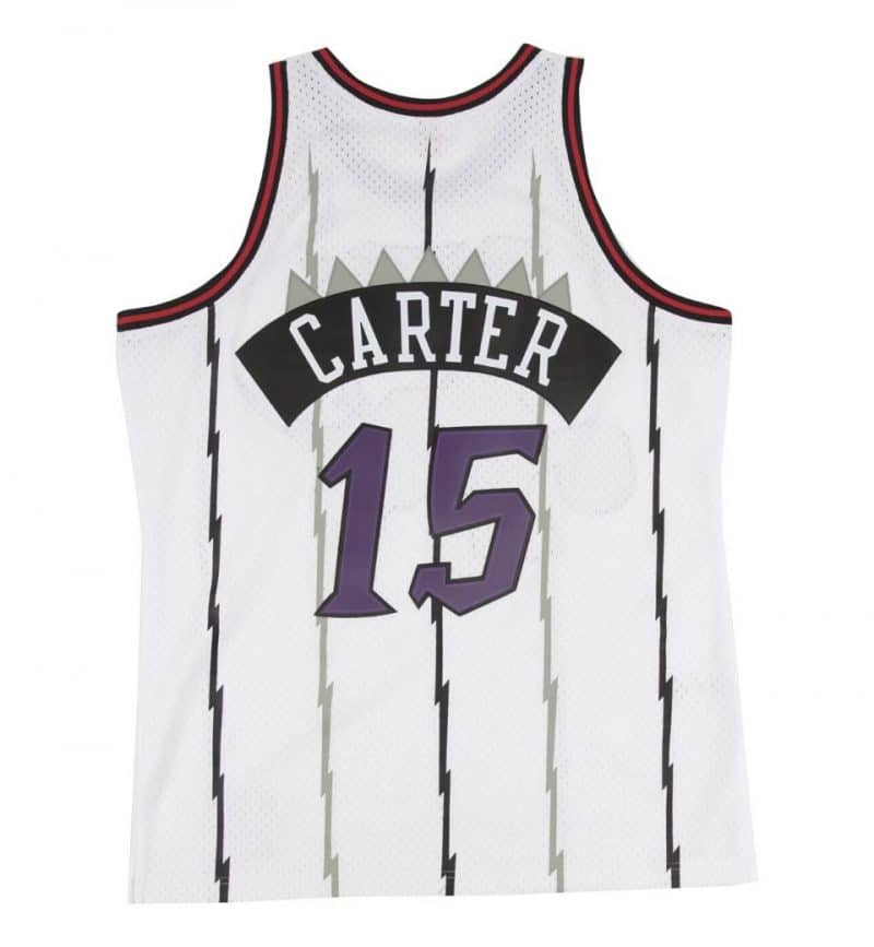 Vince Carter - Mitchell and ness - Maillot vintage - dos