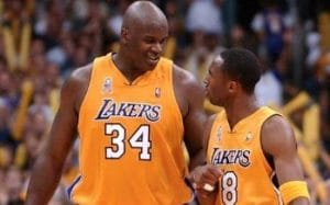 Shaquille O'Neal et Kobe Bryant - Los Angeles Lakers