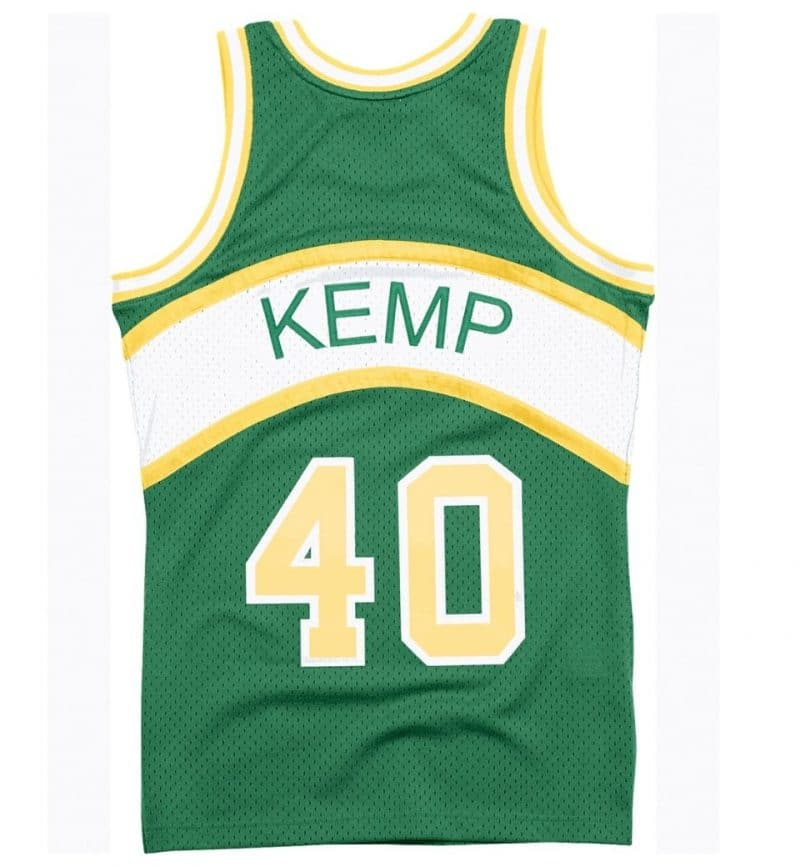 Maillot Shawn Kemp - Seattle Supersonics - dos