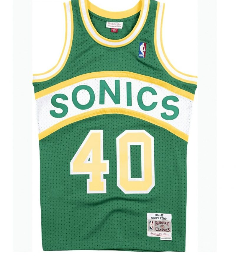 Maillot Shawn Kemp - Seattle Supersonics