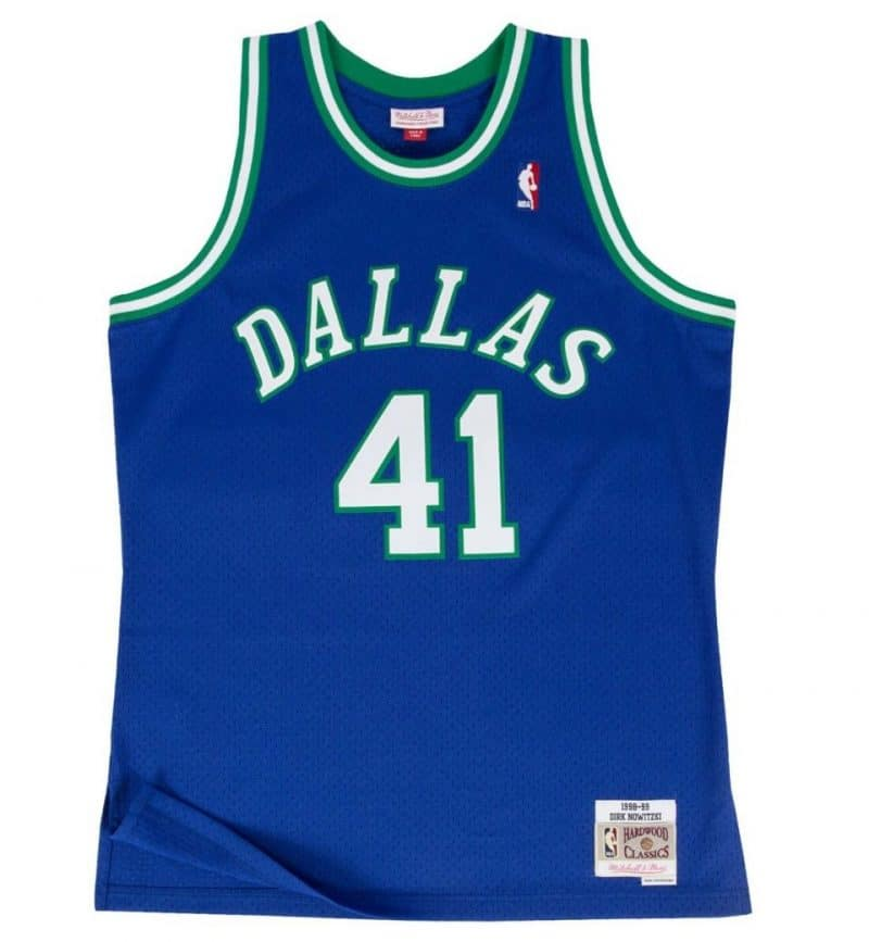 Maillot NBA Dallas Mavericks Dirk Nowitzki 98-99 - Mitchell and Ness