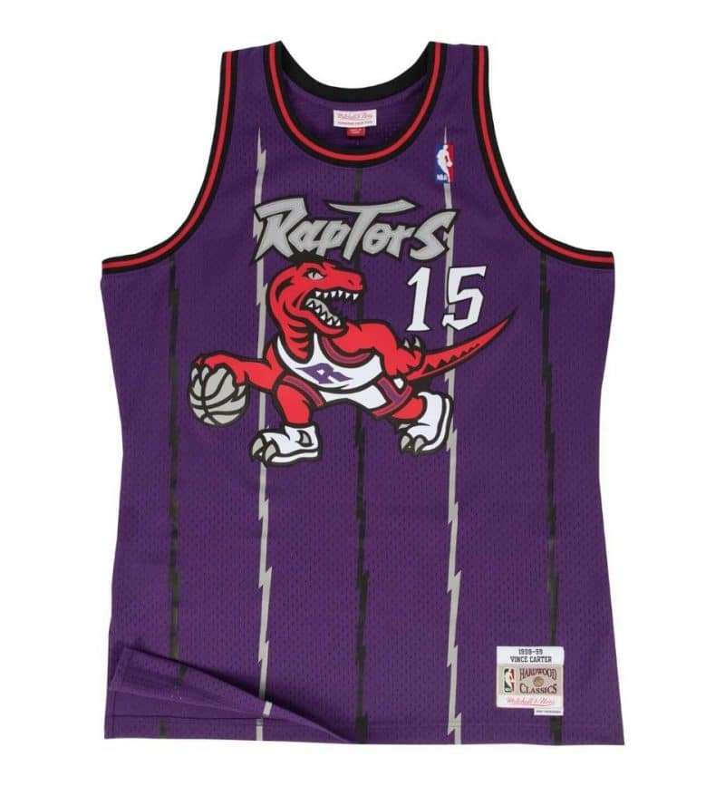 Maillot Vince Carter Toronto Raptors - Mitchell and Ness
