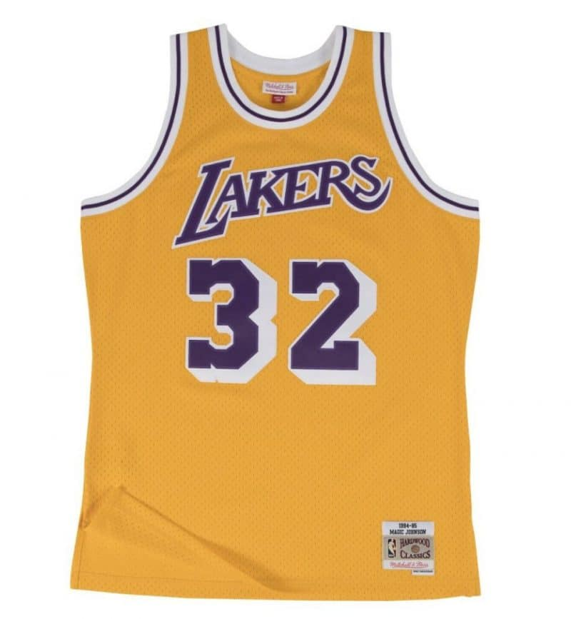 Maillot Magic Johnson - Los Angeles Lakers - Mitchell and Ness