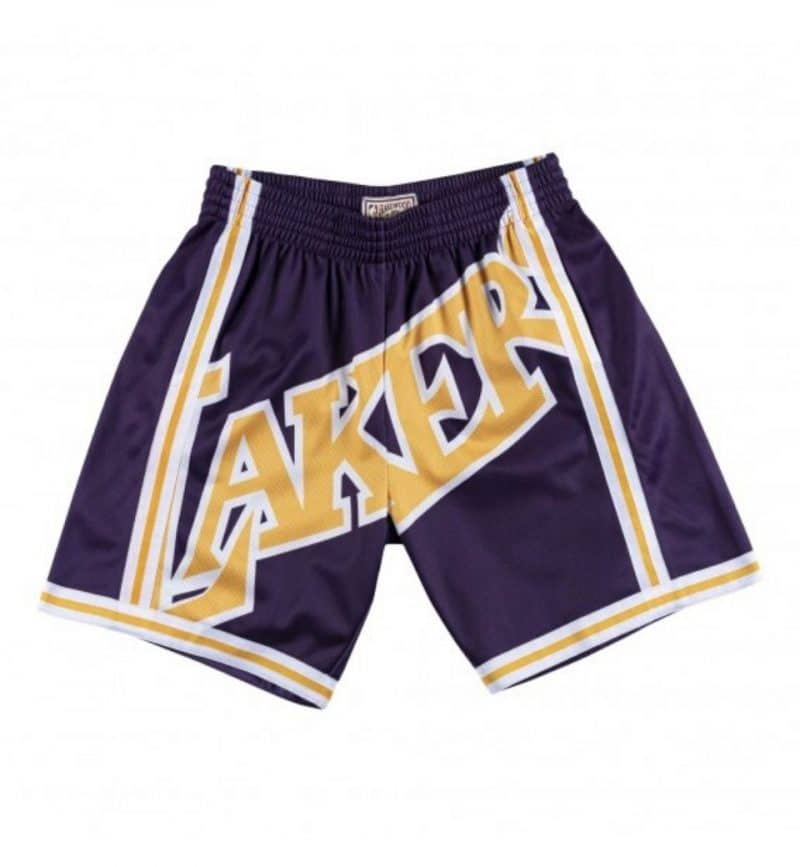 Short NBA Los Angeles Lakers - Big Face Mitchell & Ness