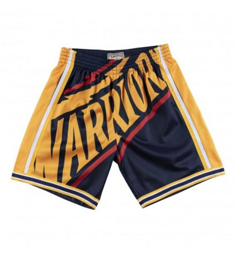 Short NBA Golden State Warriors - Big Face Mitchell & Ness