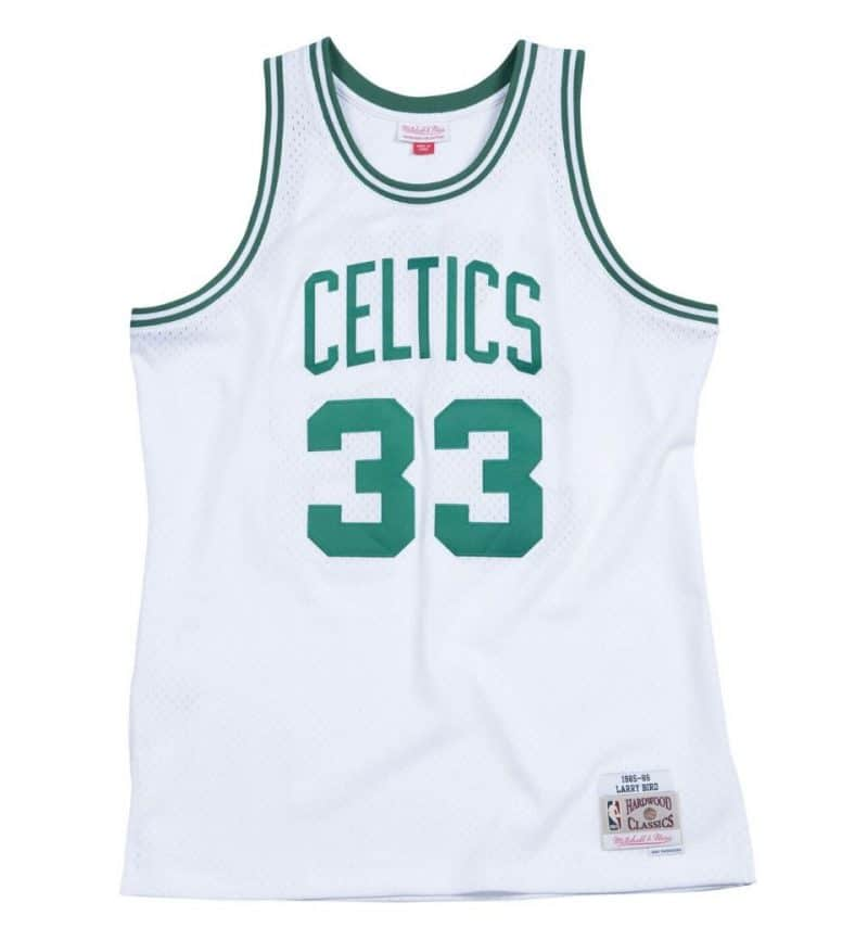 Maillot Larry Bird - Mitchell and Ness
