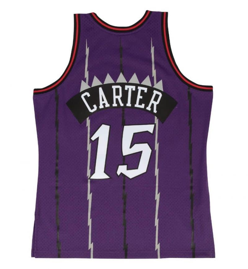 Maillot Vince Carter Toronto Raptors - Mitchell and Ness - dos