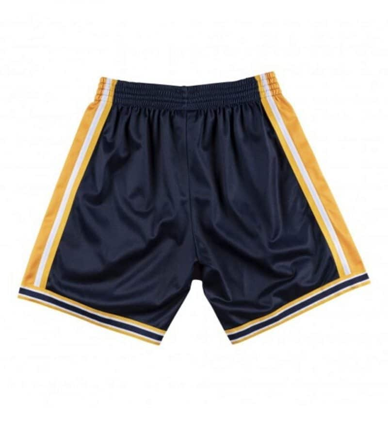 Short NBA Golden State Warriors - Big Face Mitchell & Ness - dos