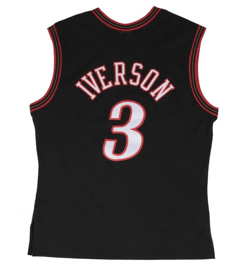 Maillot Allen Iverson Philadelphia Sixers - Mitchell and Ness - dos