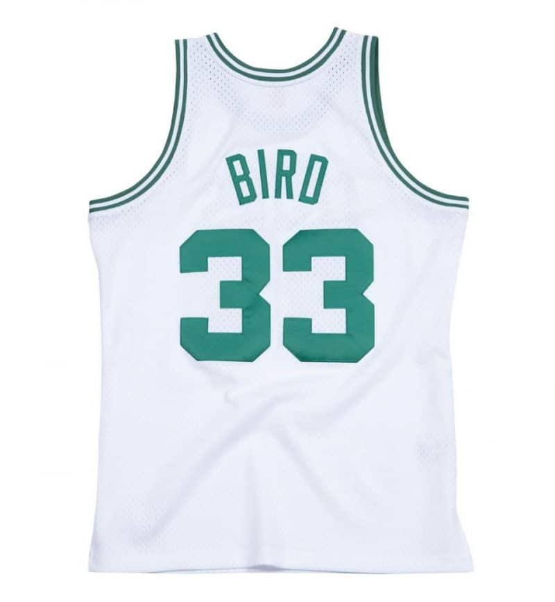 Maillot Larry Bird - Mitchell and Ness - dos