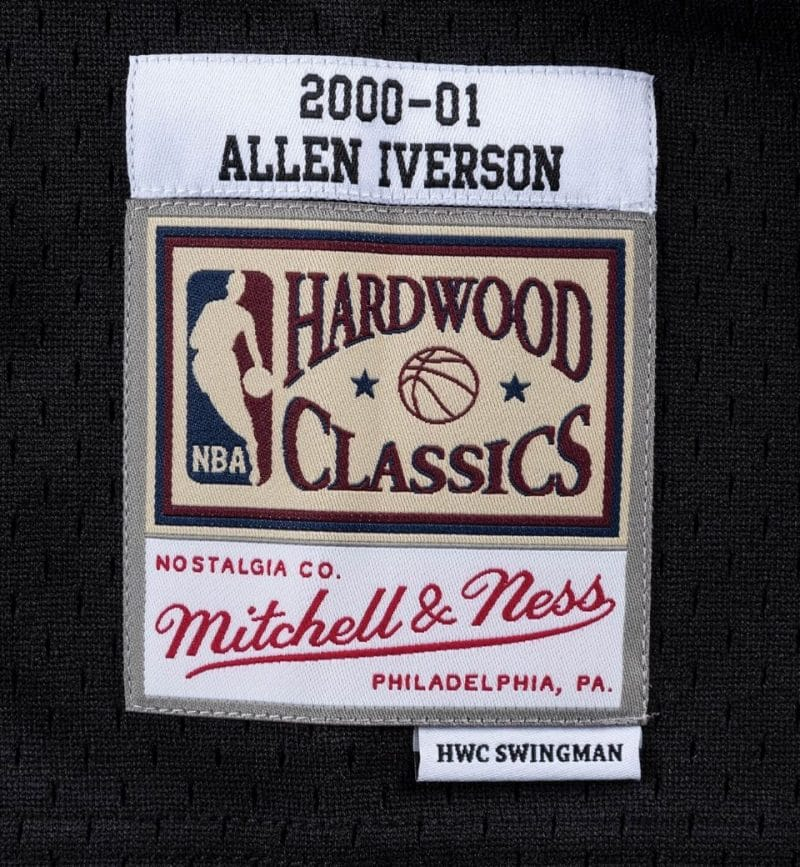 Maillot Allen Iverson Philadelphia Sixers - Mitchell and Ness - etiquette