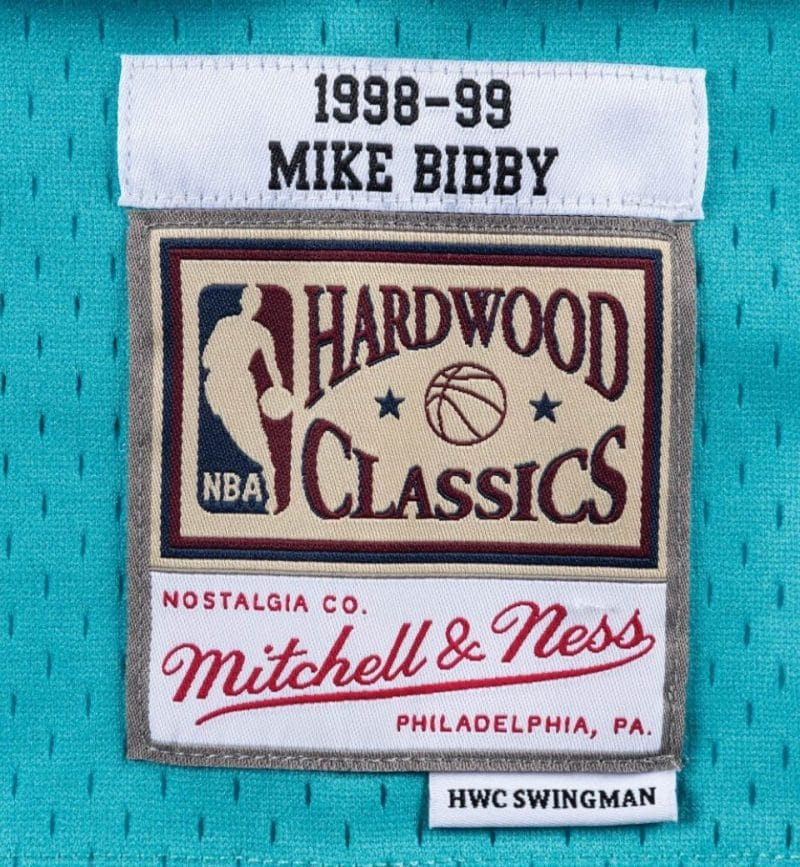 Maillot Mike Bibby Vancouver Grizzlies - Mitchell and Ness - etiquette