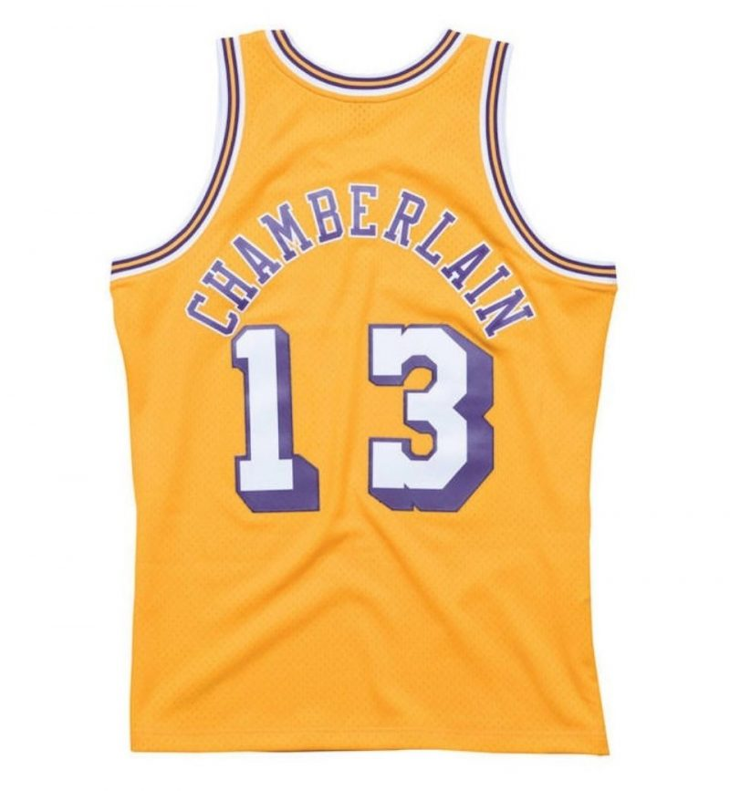 Maillot Wilt Chamberlain - Los Angeles Lakers - Mitchell and Ness - dos