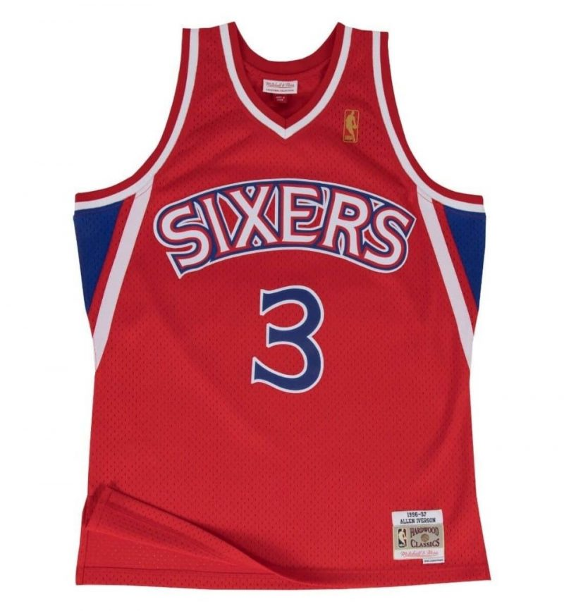 Maillot Allen Iverson - Philadelphia Sixers - Mitchell and Ness