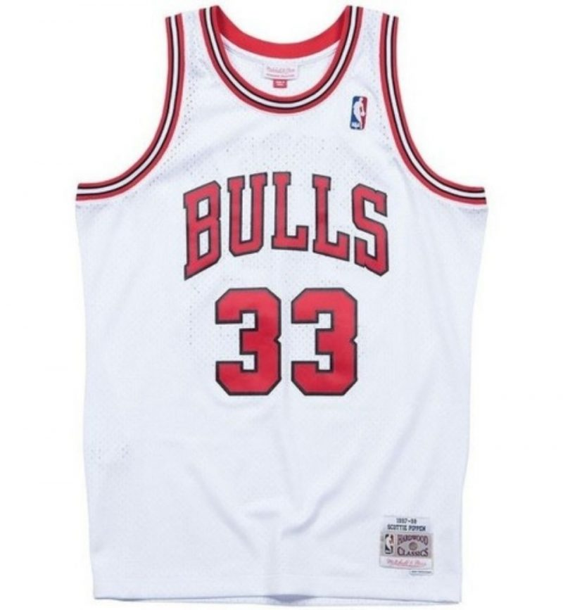 Maillot Scottie Pippen - Chicago Bulls - Mitchell and Ness