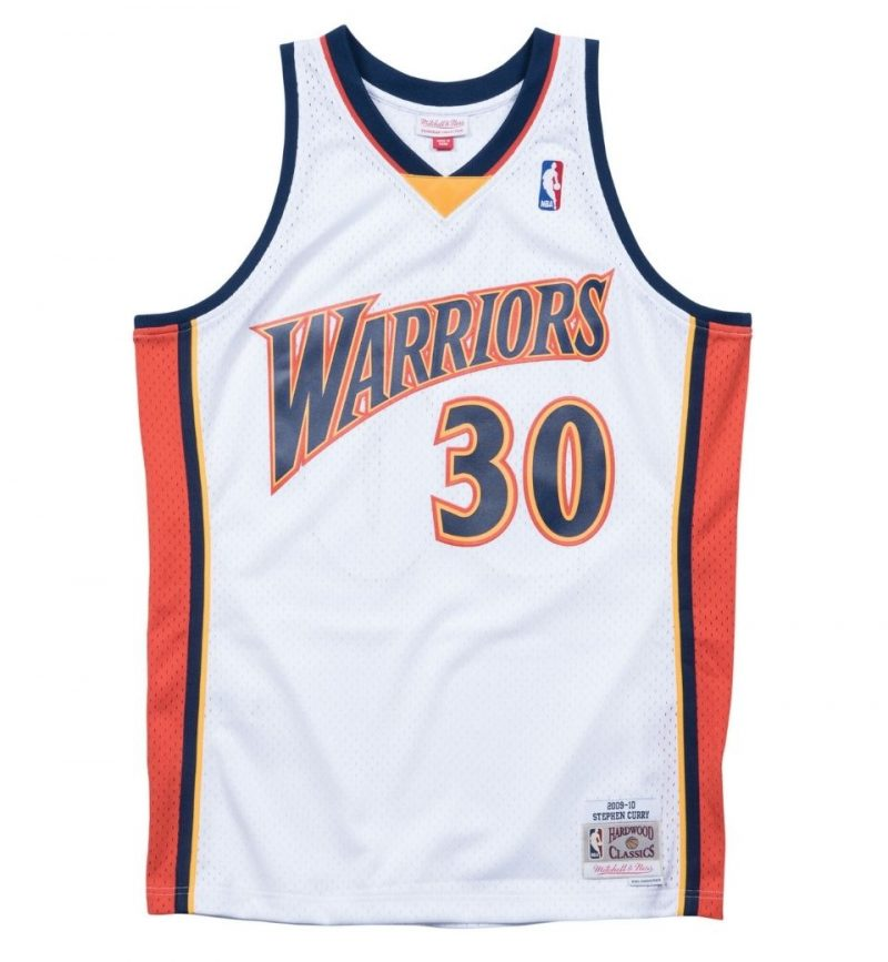 Maillot Stephen Curry - Golden State Warrior - Mitchell and Ness