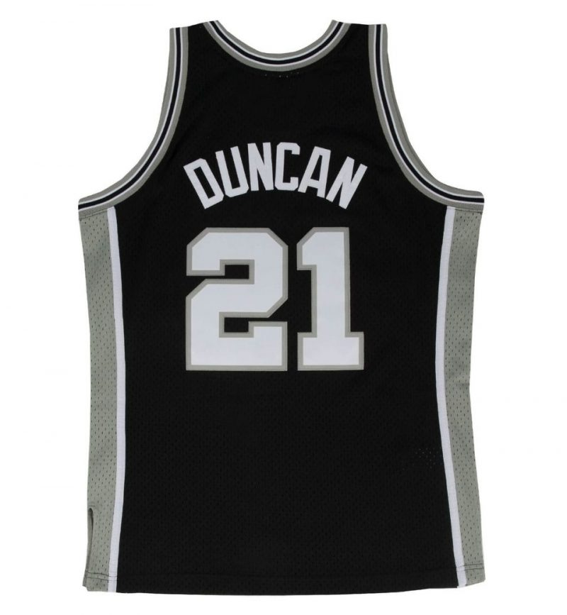 Maillot Tim Duncan - San Antonio Spurs - Mitchell and Ness - dos