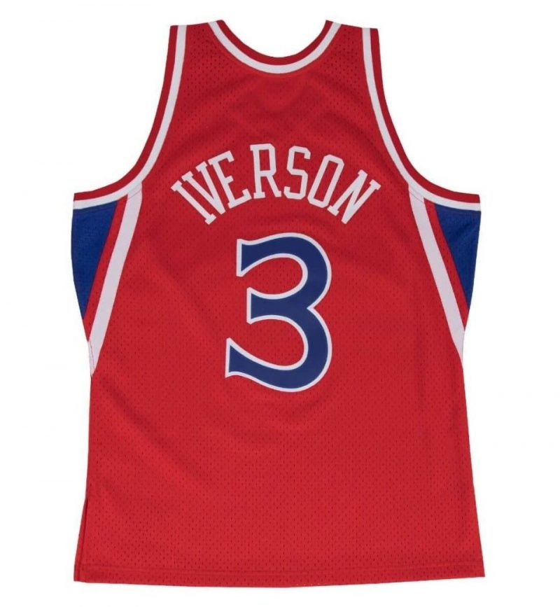 Maillot Allen Iverson - Philadelphia Sixers - Mitchell and Ness - dos