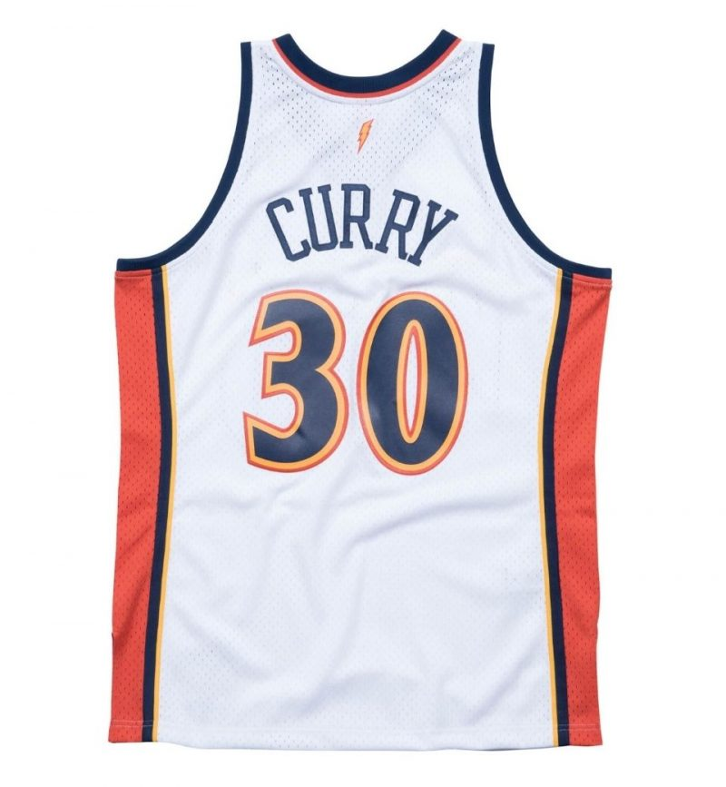 Maillot Stephen Curry - Golden State Warrior - Mitchell and Ness - dos