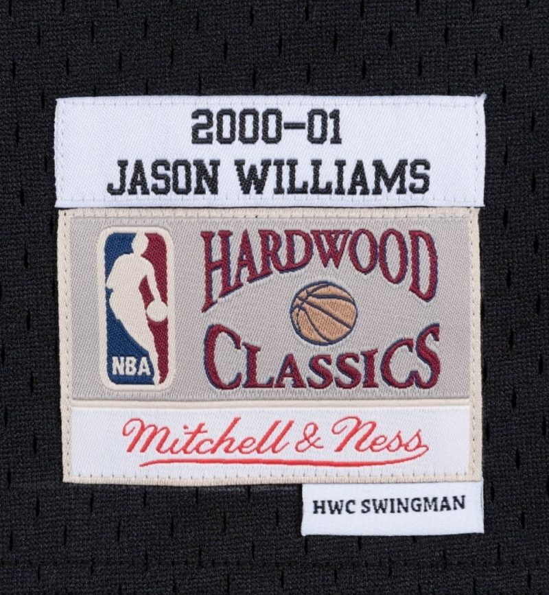 Maillot Jason Williams Sacramento Kings 2000-01 - Mitchell and Ness - etiquette