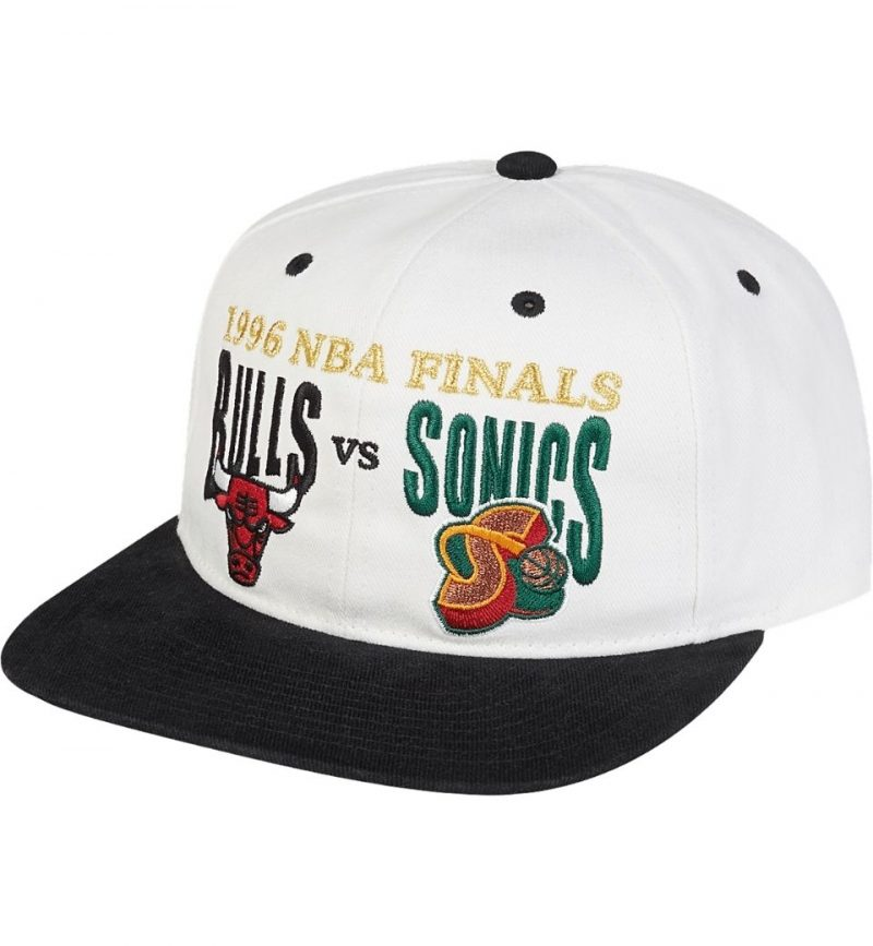 Casquette vintage Chicago Bulls Finals History - Mitchell and Ness - 1