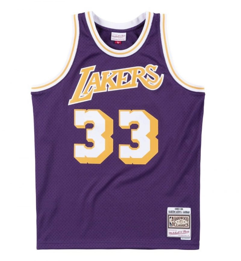 Maillot Kareem Abdul Jabbar - Los Angeles Lakers - Mitchell & Ness