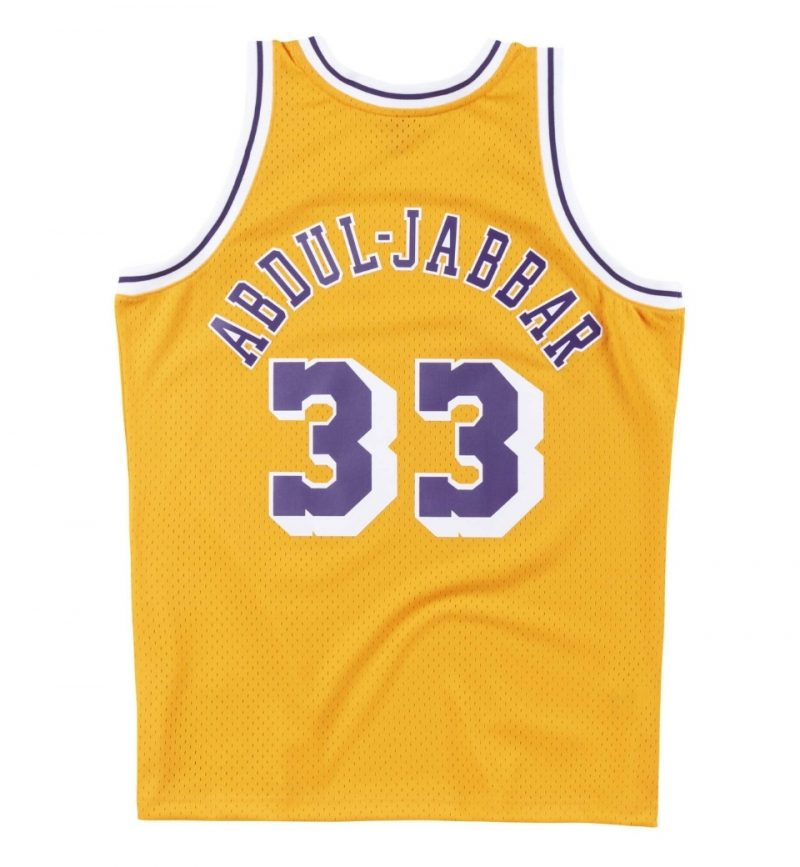 Kareem Abdul Jabbar - Los Angeles Lakers - Mitchell & Ness - dos