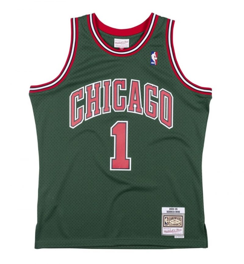 Derrick Rose - Chicago Bulls - Mitchell and Ness
