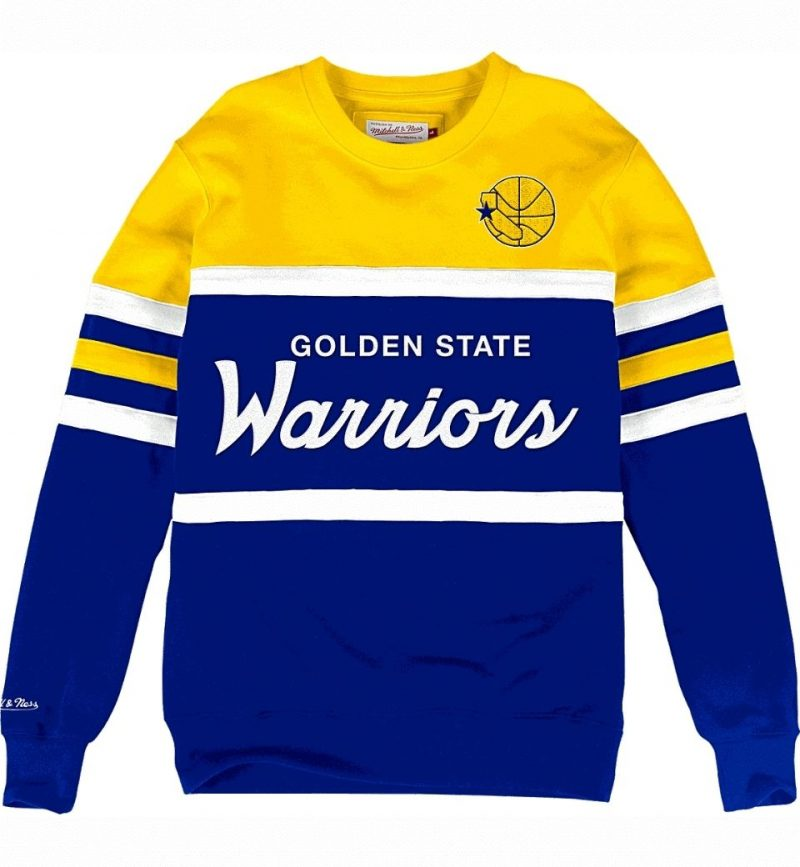 Head Coach Crew Golden State Warriors - Mitchell & Ness