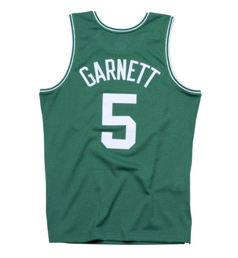 Maillot Kevin Garnett - Boston Celtics- Mitchell and Ness - dos