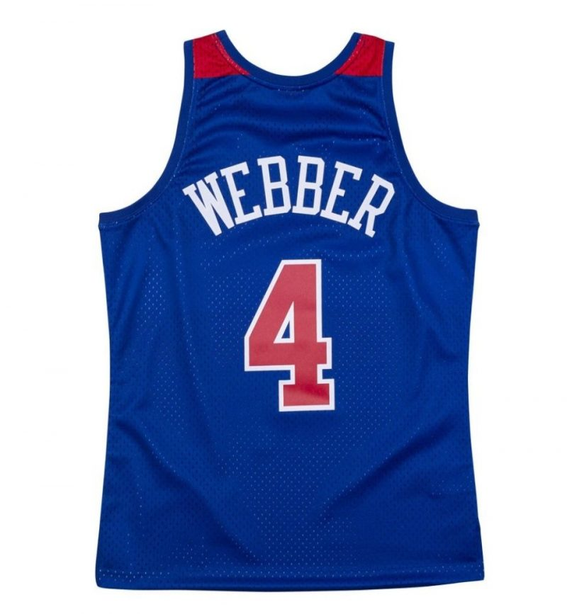 Maillot Chris Webber - Washington Bullets - Mitchell & Ness - dos