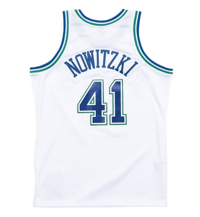 Maillot NBA Dallas Mavericks Dirk Nowitzki 98-99 - Mitchell and Ness - dos