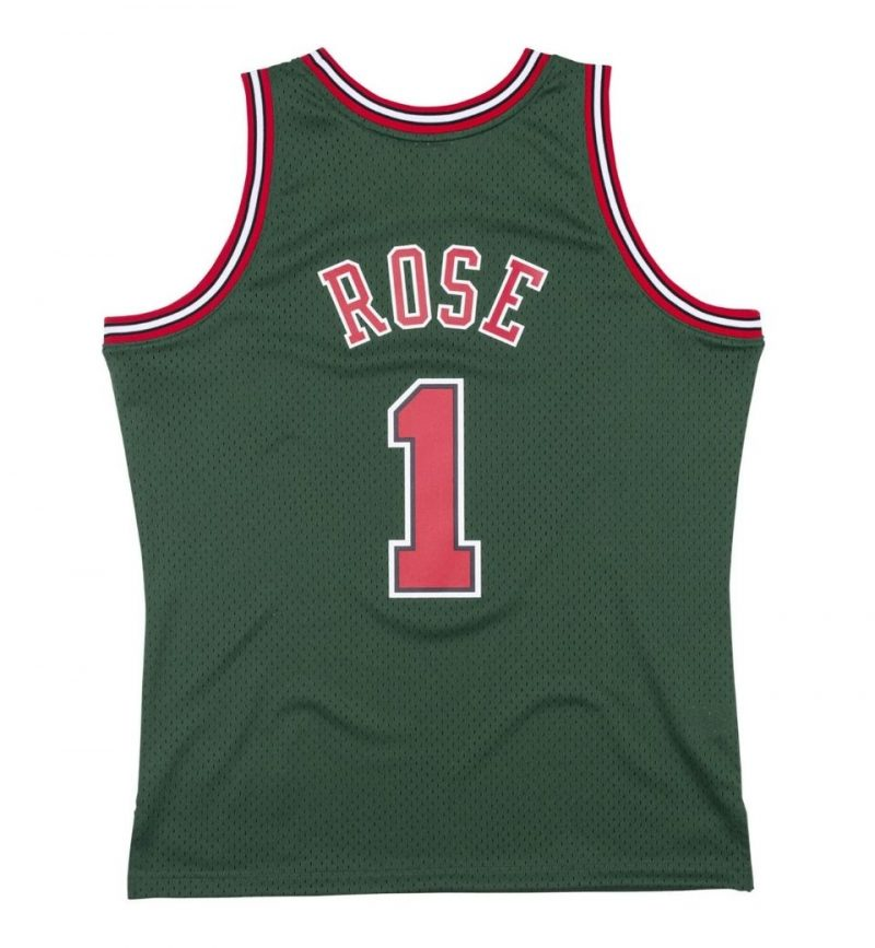 Derrick Rose - Chicago Bulls 2008-09 - Mitchell and Ness - dos